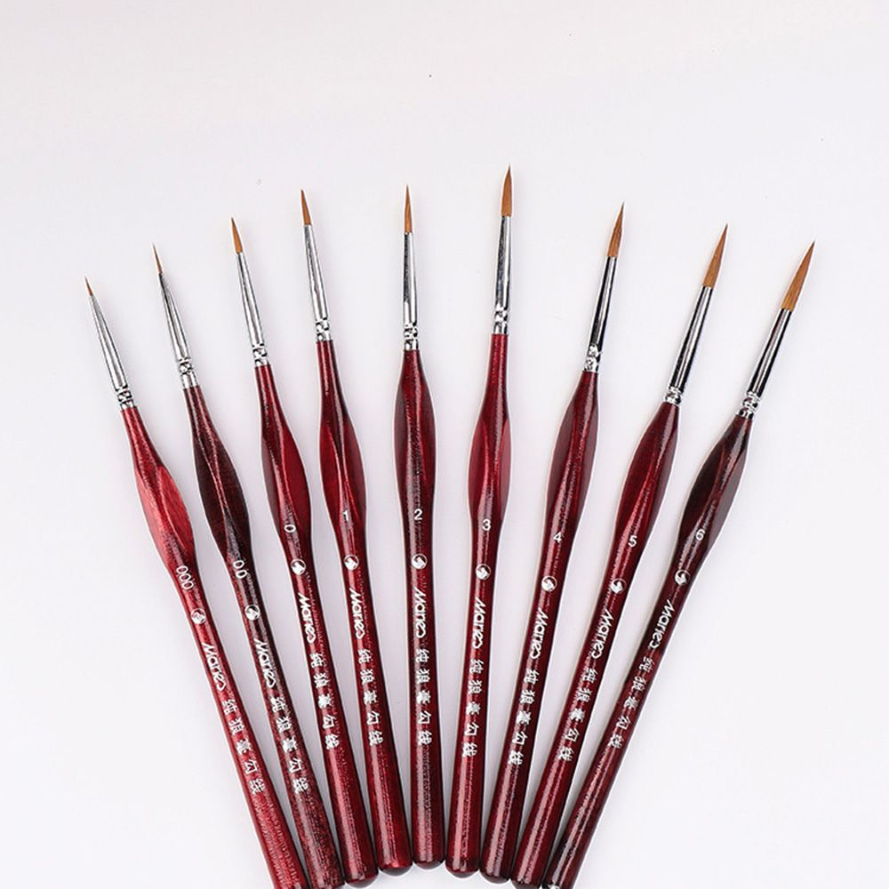 1 PCS Paint Brush Miniature Detail Art Drawing Brushes Paint Brushes Acrylic Oil Painting School Office Supplies