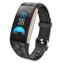 Смарт-часы Для мужчин крови Давление Водонепроницаемый Smartwatch Для женщин монитор сердечного ритма Фитнес часы Tracke спортивные часы для IOS и Android