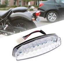 1 шт. Универсальный светодиодный задний тормозной светильник s мотоциклетный задний сигнальный светильник для Yamaha Suzuki Honda Quad ATV Kart и т. д