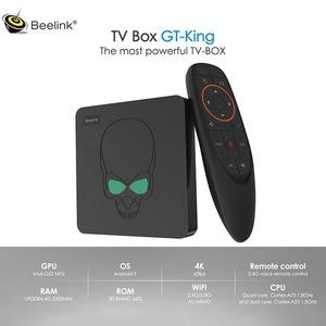 Image 1 - Beelink GT KING Android 9.0  4K TV Box 5G WIFI bluetooth 4.2 Amlogic S922X 4GB DDR4 RAM 64GB ROM 1000M LAN Smart TV Box