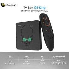 Beelink gt 王の android 9.0 4 4k テレビボックス 5 グラム wifi bluetooth 4.2 amlogic S922X 4 ギガバイト DDR4 ram 64 ギガバイト rom 1000 メートル lan スマート tv ボックス