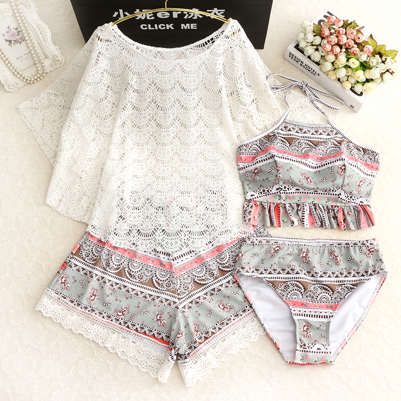 STAERK Piece Suit With Belly Covering, Thin Chest Gathering, Conservative South Korean Hot Spring Small Fragrant Swimsuit