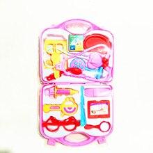Детский игровой домик, игрушка, маленькая игрушка, медицинский ящик, детский игрушечный набор врача,, три цвета, смешанные