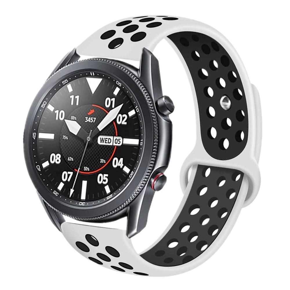 Купить 22 мм спортивный силиконовый браслет для мужчин ремешок часов