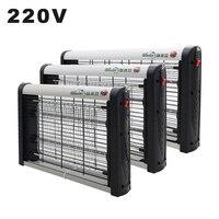 Led電気蚊キラーランプ家庭用光触媒ミュート220 220vフライバグザッパー物理蚊殺害昆虫トラップランプ