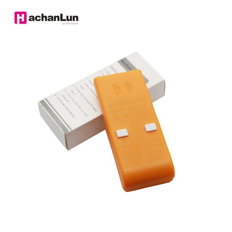 Handheld RFID 125/250/375/500KHz EM4305 T5577 ID Cards Key Tag Writer Copier Duplicator Programmer Writable Reader