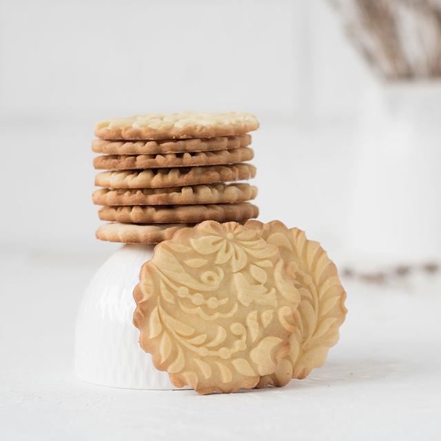 Christmas Moose Cartoon Digital Alphabet Pattern Embossing Rolling Pin Baking Cookie Biscuit Fondant Cake Dough Engraved Roller