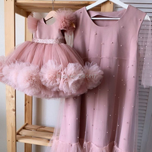 New Flower Girl Dresses for Wedding Ball Gown Kids Pageant Gowns Custom Made Girl's Birthday Party Dress Christmas dress