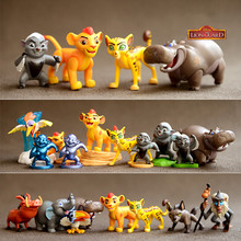 12pcs  the Lion King Simba Nala Timon Model Figure PVC figurines classic toys best christmas gifts Boy girl toy