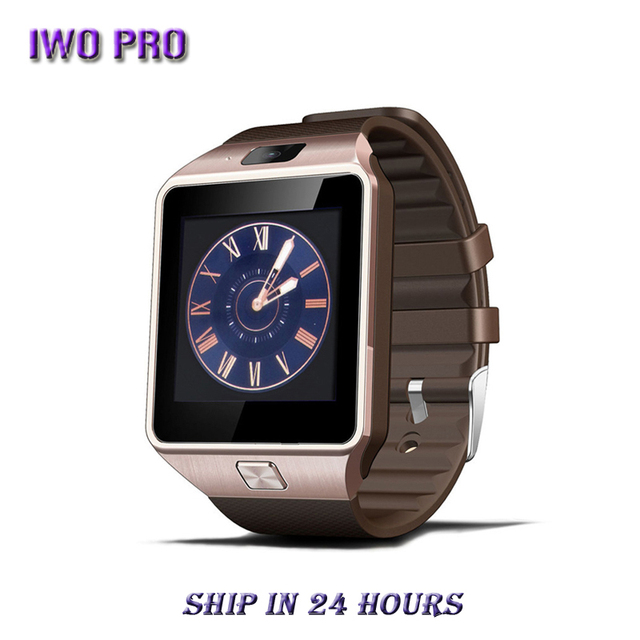 IWO PRO DZ09 Bluetooth Smart Watch Smartwatch Android Call Relogio 2G GSM SIM TF Card Camera for Android Smartphone PK GT08 A1 1