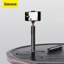 Baseus bluetooth selfieスティック拡張可能なスマート電話とカメラの三脚ワイヤレスリモコンiphone iosのandroid