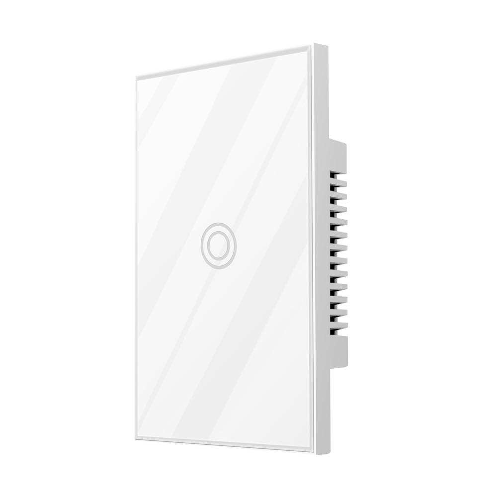 NEO COOLCAM Z-wave Plus Wall Light Switch 1CH Gang US Type US  908.4MHz AU 921MHZ 916MHZ Z Wave Wireless Smart Remote Control