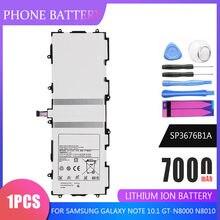 Tablet Batterie SP3676B1A Für Samsung Galaxy Note 10,1 GT-N8000 N8010 N8020 N8013 P7510 P7500 P5100 P5110 P5113 Ersatz Zellen