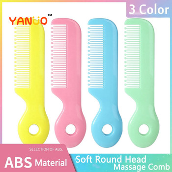 YANUO Macarons Color Cartoon Safe Baby Comb Hair Brush Newborn Hairbrush Kids Boy Girl Gift - discount item  51% OFF Baby Care
