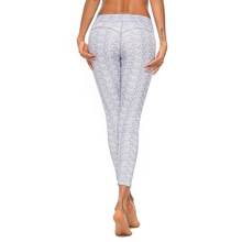CINESSD High Waist Leggings Digital Print Yoga Pants Patchwork MultiColor Exercise Sport Women Fitness Brand