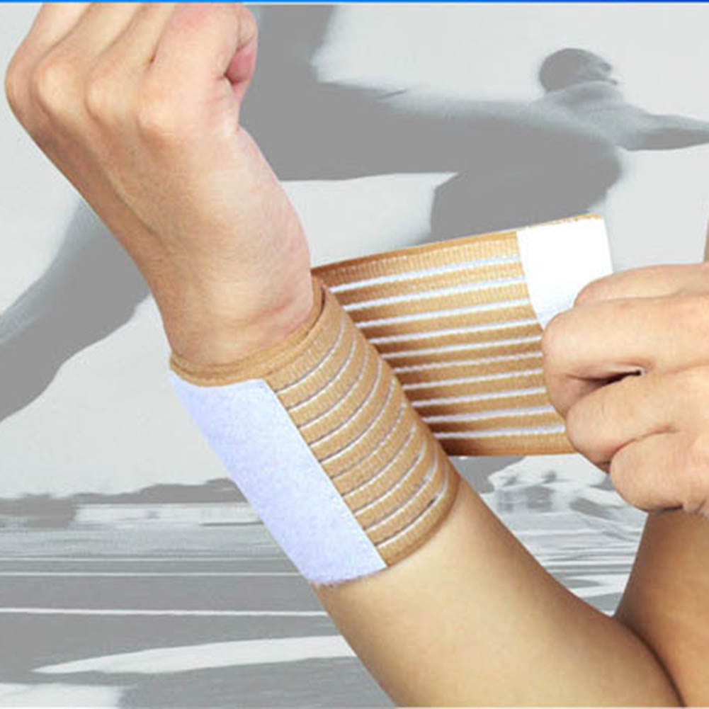 Sports Wrist Band Outdoor Sport Elastic Bandage Hand Sport Wristband Gym Support Wrist Brace Wrap Fitness Tennis