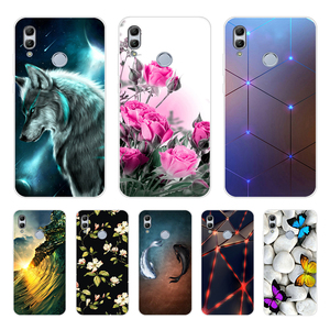For Huawei Honor 10 Lite Case Cover Silicon Capa Honor 10 Lite Funda Honor10 Lite Case Phone Protector Bumper On Honor 10 Lite(China)