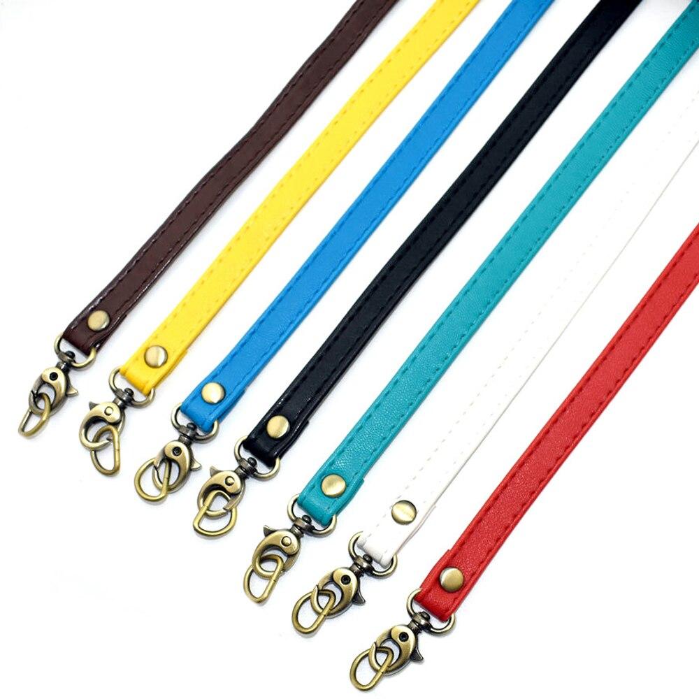 120 Cm Quality Leather Shoulder Bag Strap Fashion Accessories DIY Cross Body Adjustable Belt Bag New Solid Bag Strap Replacement