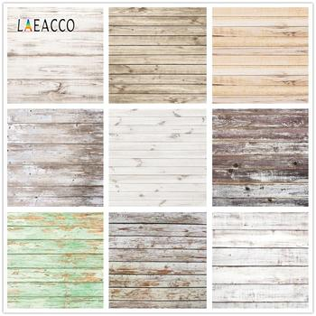 Laeacco Wooden Board Photocall Planks Vintage Grunge Portrait Photography Backgrounds Photo Backdrops For Studio Photozone