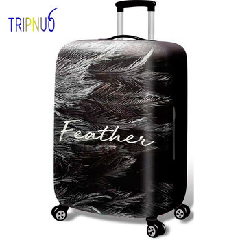 TRIPNUO Feather Thicken Suitcase Protective Covers For 18-32 Inch Suitcase Case Travel Luggage Bag Trolley Elastic Luggage Cover