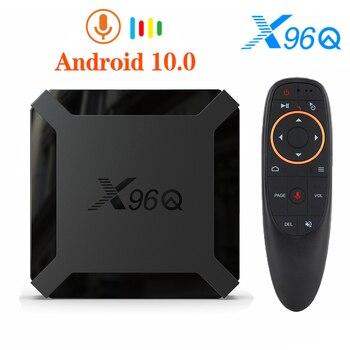 Newest X96Q TV BOX Android 10.0 Allwinner H313 Quad Core 2GB 16GB 2.4G WIFI 4K Youtube Smart Media Player HD Set top box X96