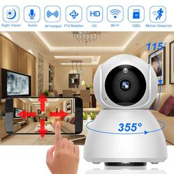 HD 720P Home Security IP Camera Two Way Audio Wireless Mini Camera 2MP Night Vision CCTV WiFi Camera