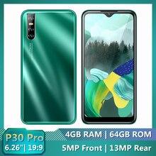 4G LTE Original Mobile Phones P30 PRO 4G RAM 64G ROM 6.26