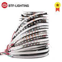 1m/2m/4m/5m WS2812B Led Strip 30/60/74/96/100/144 pixels/leds/m WS2812 Smart RGB Led Light Strip Black/White PCB IP30/65/67 DC5V