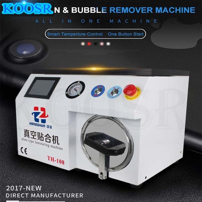 15 inch TH 108 Vacuum lamination machinefor LCDrepair Air bubble remover machine repair lcd refurbish oca laminator machi-in Power Tool Sets from Tools    1