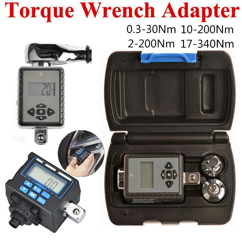 Torque Adapter Digital Torque Wrench  Adjustable Torque Wrench Bike Set Car Repair Bicycle