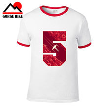 3D Digital Design RED FIVE 5 I T-SHIRT - Luke Star Alliance Rebels Skywalker X-Wing Wars Pilot Cool Space Battles t shirt men(China)