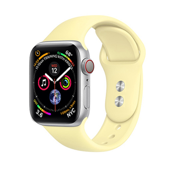 Sport Silicone Strap For Apple Watch band 38mm 42mm correa Apple watch 5 4 3 2 iWatch 5 band 44mm 40mm belt Bracelet Accessories