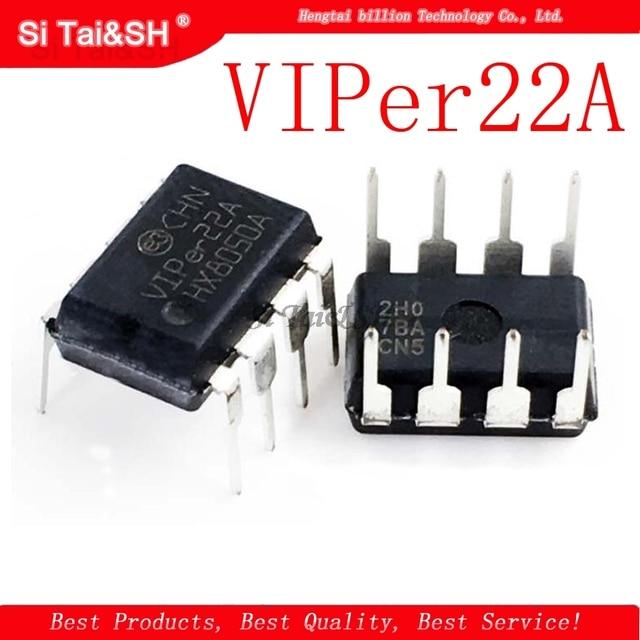 10pcs/lot VIPer22A DIP8 VIPer22 DIP 1