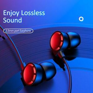 Image 5 - USAMS douszne słuchawki 3.5mm metalowe Hifi przewodowy zestaw słuchawkowy z mikrofonem Stereo przewodowe słuchawki douszne z mikrofonem zestaw słuchawkowy do iphonea Huawei xiaomi