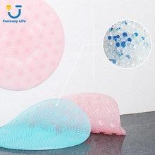 Силиконовый массажный коврик для мытья ног не скользит