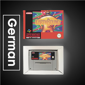 Image 3 - Earthbound   EUR Version RPG Game Card Battery Save With Retail Box