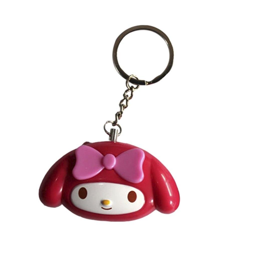Cute Mini Self Defense Alarm 120dB Super Loud Personal Security Alarm Anti-Attack Emergency Alarm Keyring For Women Kids Elderly