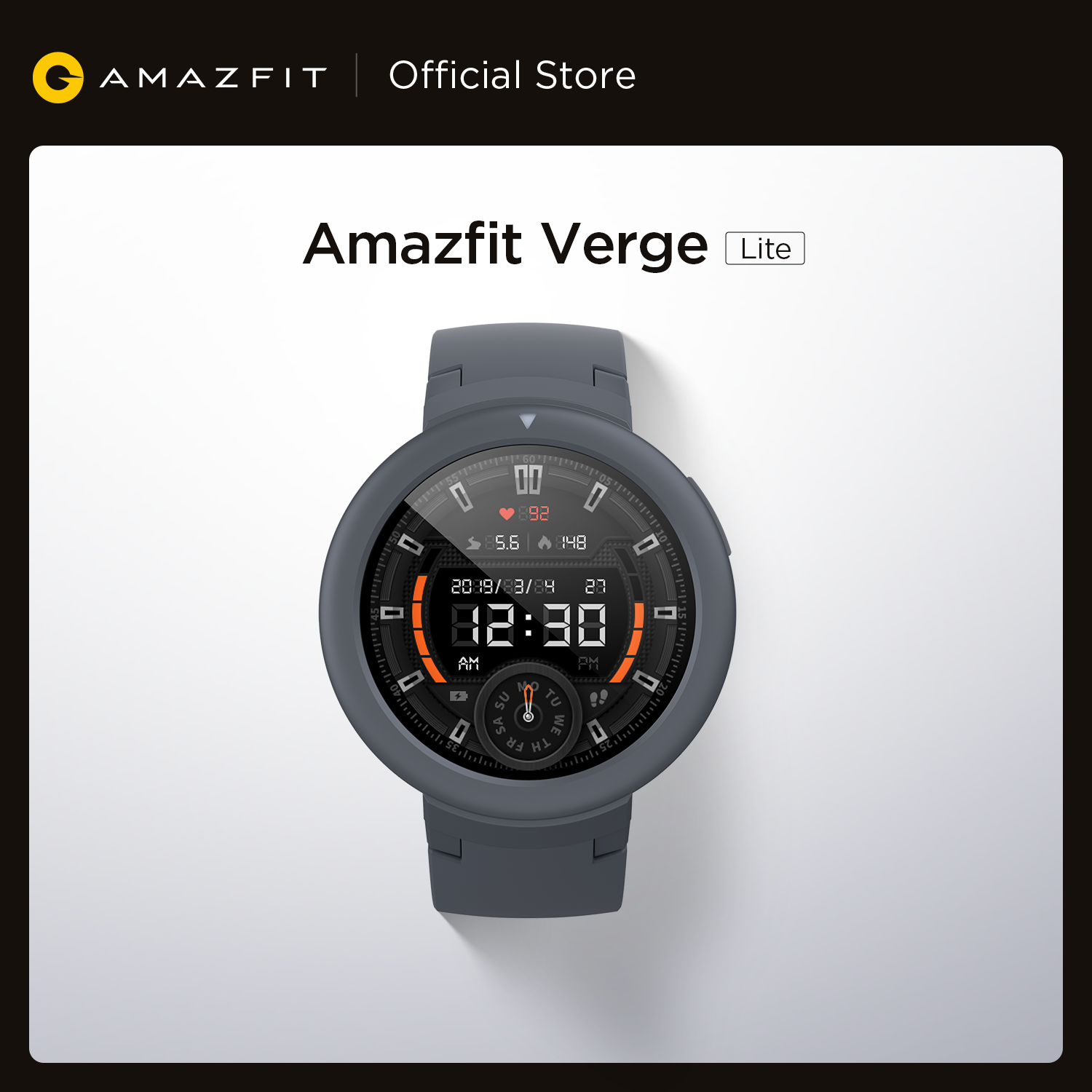 Global Version Amazfit Verge Lite Smartwatch GPS GLONASS GPS Long Battery Life Sports Watch for Android iOS Phone|Smart Watches| - AliExpress