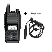 Baofeng BF A58 Walkie Talkie IP68 กันน้ำ 128CH Dual Band UHF VHF วิทยุสองทางวิทยุ FM Transceiver CB HAM วิทยุสถานี