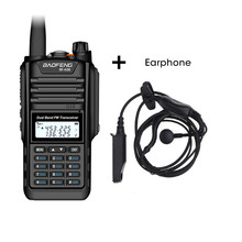 Baofeng BF A58 Walkie Talkie IP68 Waterproof 128CH Dual Band UHF VHF Two Way Radio Handheld FM Transceiver CB Ham Radio Station