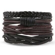 Bracelets en cuir pour hommes et petites amies, bijoux, 2020