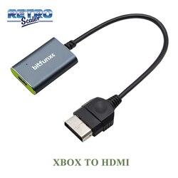 Adaptador de conversor hdmi retrocaler para microsoft xbox console de jogos de vídeo retro alta definição 480p/720p/1080i modos saída