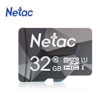 Netac oryginalny Class10 Micro SD inteligentna karta TF 64GB 128GB 32GB 16GB 8GB karta pamięci U1 karta pamięci Mini Microsd TF SD na telefon tanie tanio P500AE CN (pochodzenie) Tf micro sd card 100 New
