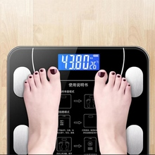 Bathroom Scales LED Screen Body Grease Electronic Weight Scale Body Composition Analysis Health Scale Smart Home