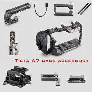 Image 1 - Tilta dslr rig a7 iii cámara completa jaula asa superior placa base cable hdmi para Sony A7 A9 A7III A7R3 A7M3 A7R2 A7 accesorios