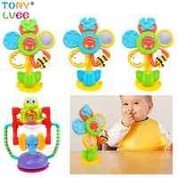 Jouet de Center d'activité de roue de merveille de couleur vive de bébé de RCtown