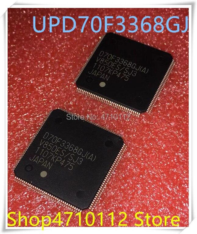 NEW 10PCS/LOT UPD70F3368GJ(A)-GAE-AX UPD70F3368GJ(A) D70F3368GJ(A) 70F3368GJ(A) UPD70F3368 QFP-144 IC