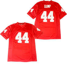 BG American football jersey 44 GUMP jerseys Embroidery sewing Outdoor sportswear Hip hop loose red 2020 new  hot sale