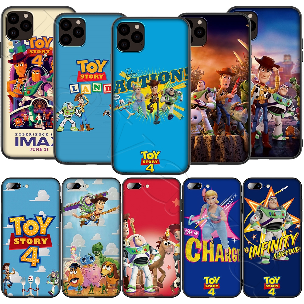 Lavaza <font><b>Toy</b></font> <font><b>Story</b></font> Silicone Soft Case for <font><b>iPhone</b></font> 11 Pro XS Max XR X 8 7 <font><b>6</b></font> 6S Plus 5 5S SE image