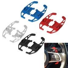 2 шт./компл. автомобильный рычаг переключения передач на рулевое колесо Расширенный для VW GOLF GTI R GTD GTE MK7 7 POLO GTI Scirocco автомобильные аксессуары